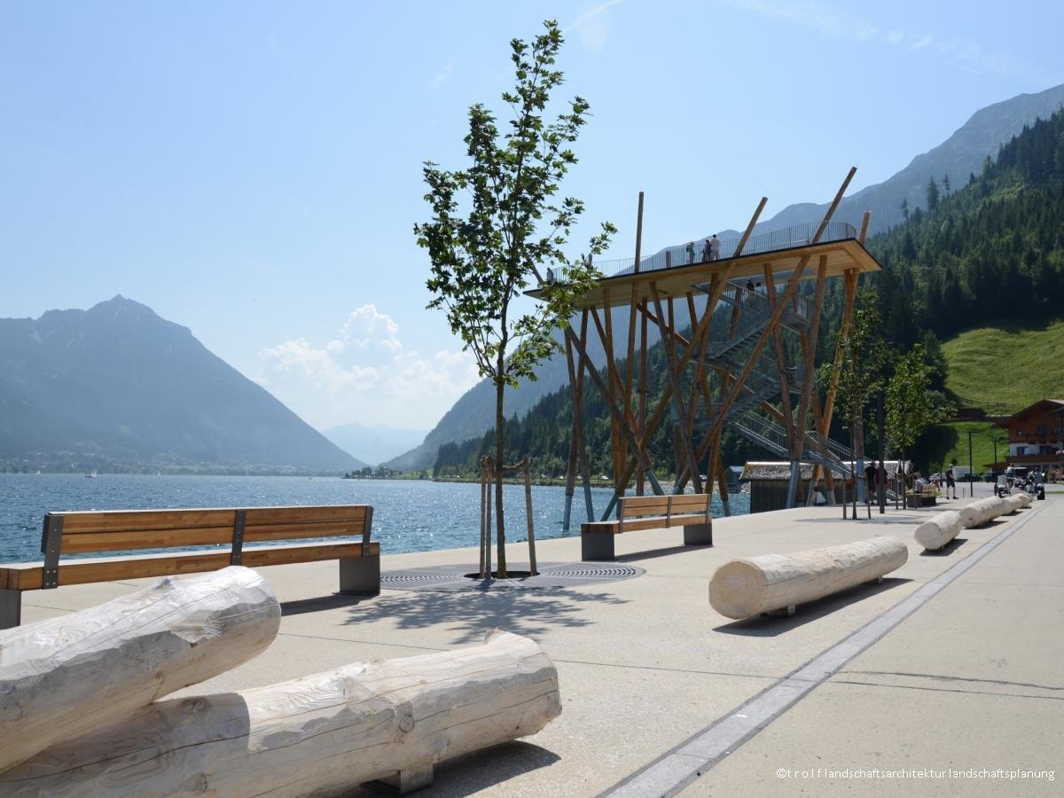 Seepromenade, Pertisau am Achensee - Trolf Landschaftsarchitektur