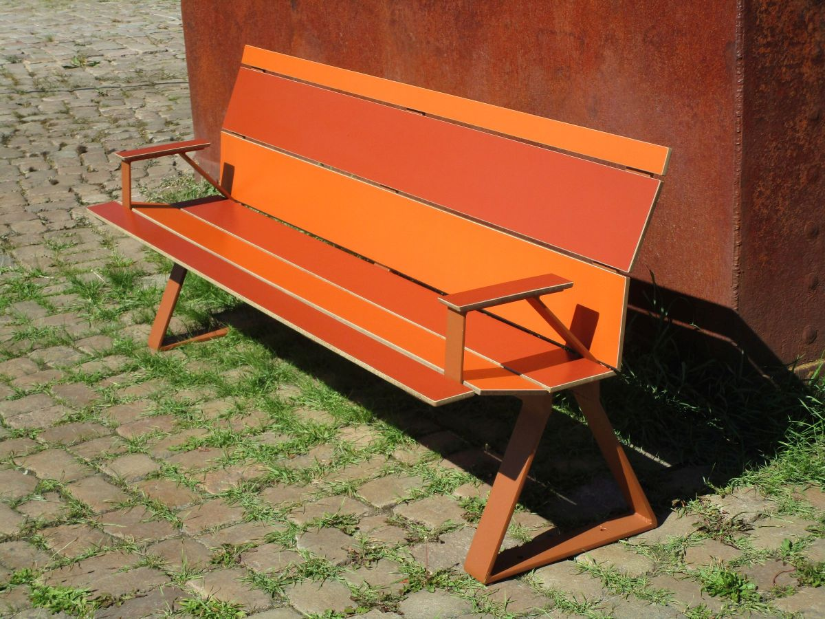 Swing 2 HPL SitzBank