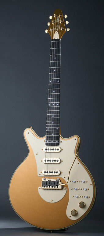 BRIAN MAY GOLD SPECIAL SIGNATURE