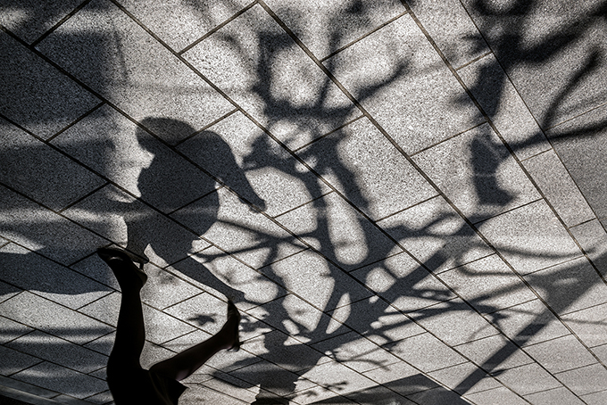 Tokio Strassenszene, Japan, als Farbphoto