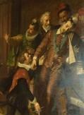 Mort d'Henri III. Source S Valentin.