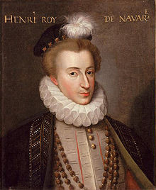 Henri de Navarre.Source Wikipedia