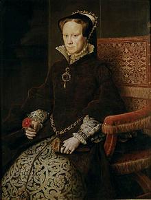 Marie Tudor ou Marie la Sanglante.Source Musée du Prado.Catalog n p021108