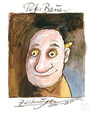 Cover Ausstellungskatalog Peter Bauer