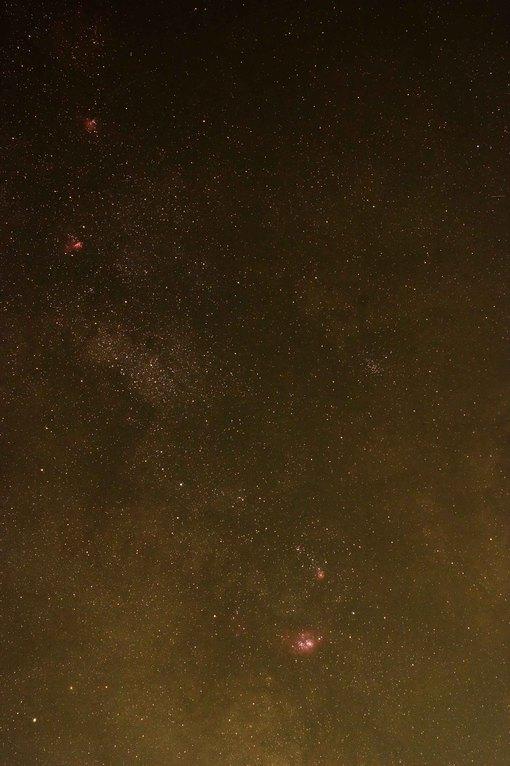 Gasnebel im Sternbild Schütze