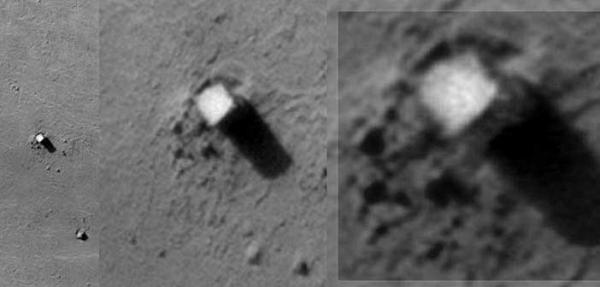 Данный камень возвышается на высоту аж 90 метров над поверхностью Фобоса. На стороне Фобоса обращённой к Марсу!!!