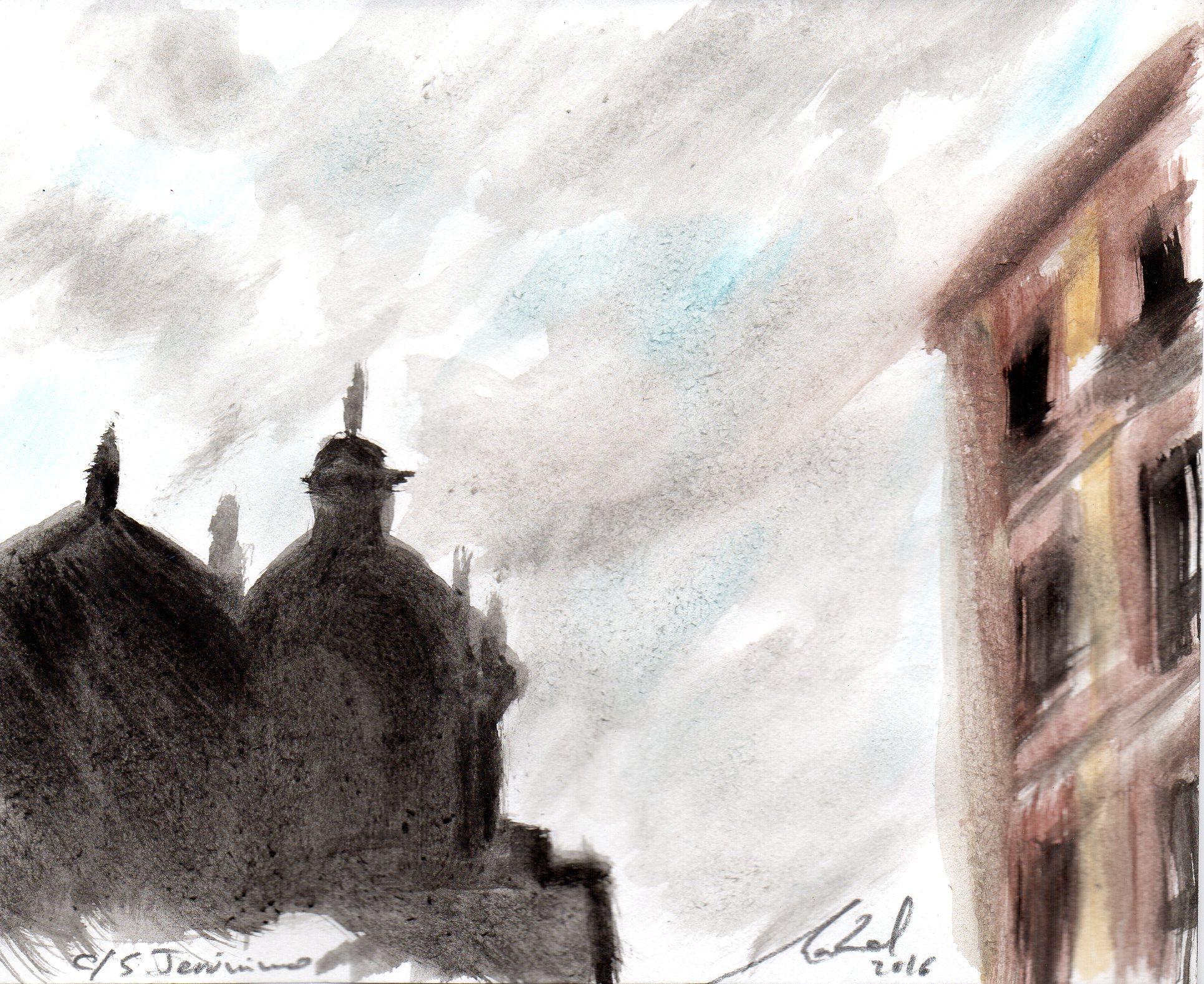 En calle San Jerónimo