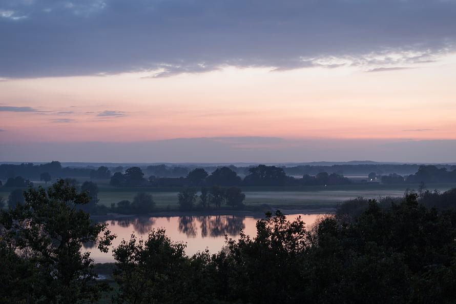 Die Elbtalauen und die Dorfrepublik Rüterberg mit Pilzgenuss