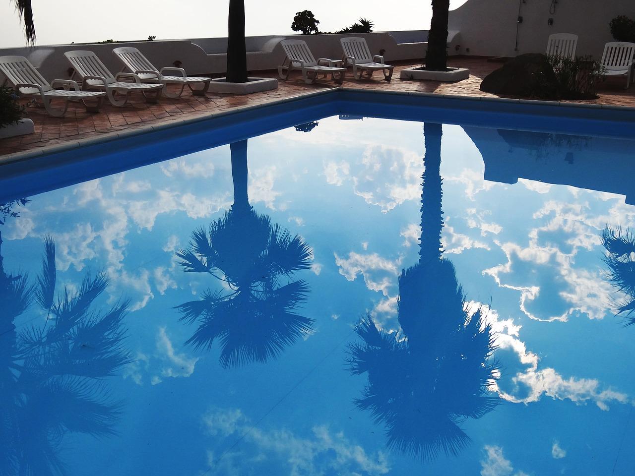 Garde corps de piscine discret