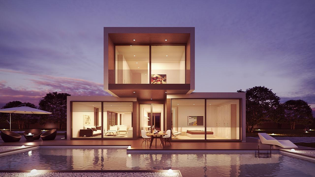 Maison contemporaine maxi luminosité