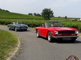 Rallye voitures anciennes