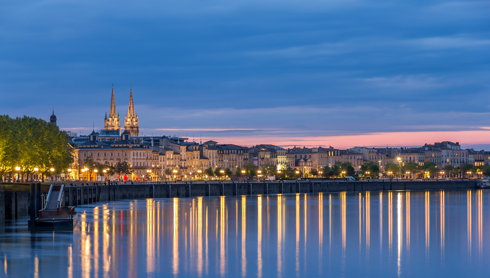 Bordeaux et l'estuaire de la Gironde
