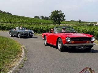 Rallye vieilles voitures