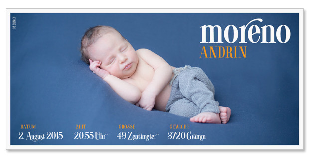 Moreno Andrin: 1-seitig, 210×105 mm   Foto: © Nicole Ruffner-Racheter, www.babyaugenblick.ch