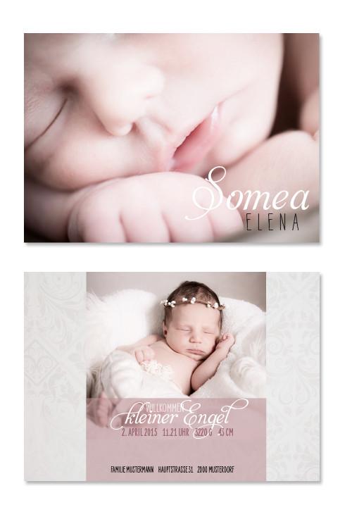 Somea: 2-seitig, 148×105 mm    Foto: © Nicole Ruffner-Racheter, www.babyaugenblick.ch