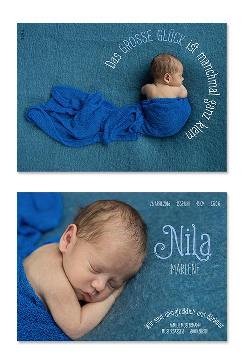 Nila Marlene: 2-seitig, 148×105 mm   Foto: © Michaela Bohnenblust, www.mia-pictures.ch