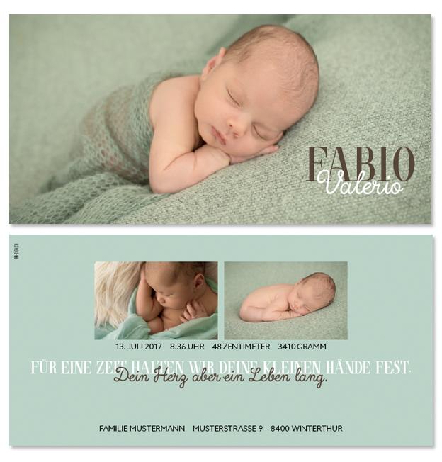 Fabio Valerio: 2-seitig, 210×105 mm   Foto: © Michaela Bohnenblust, www.mia-pictures.ch