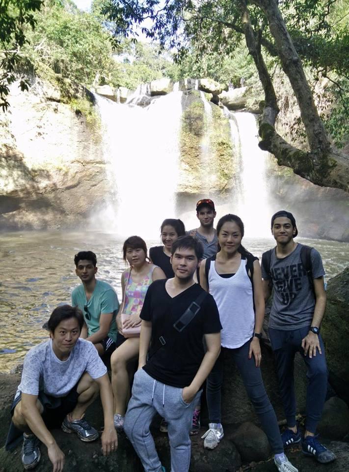 Sasinのクラスメイトとタイ Khao Yai へ