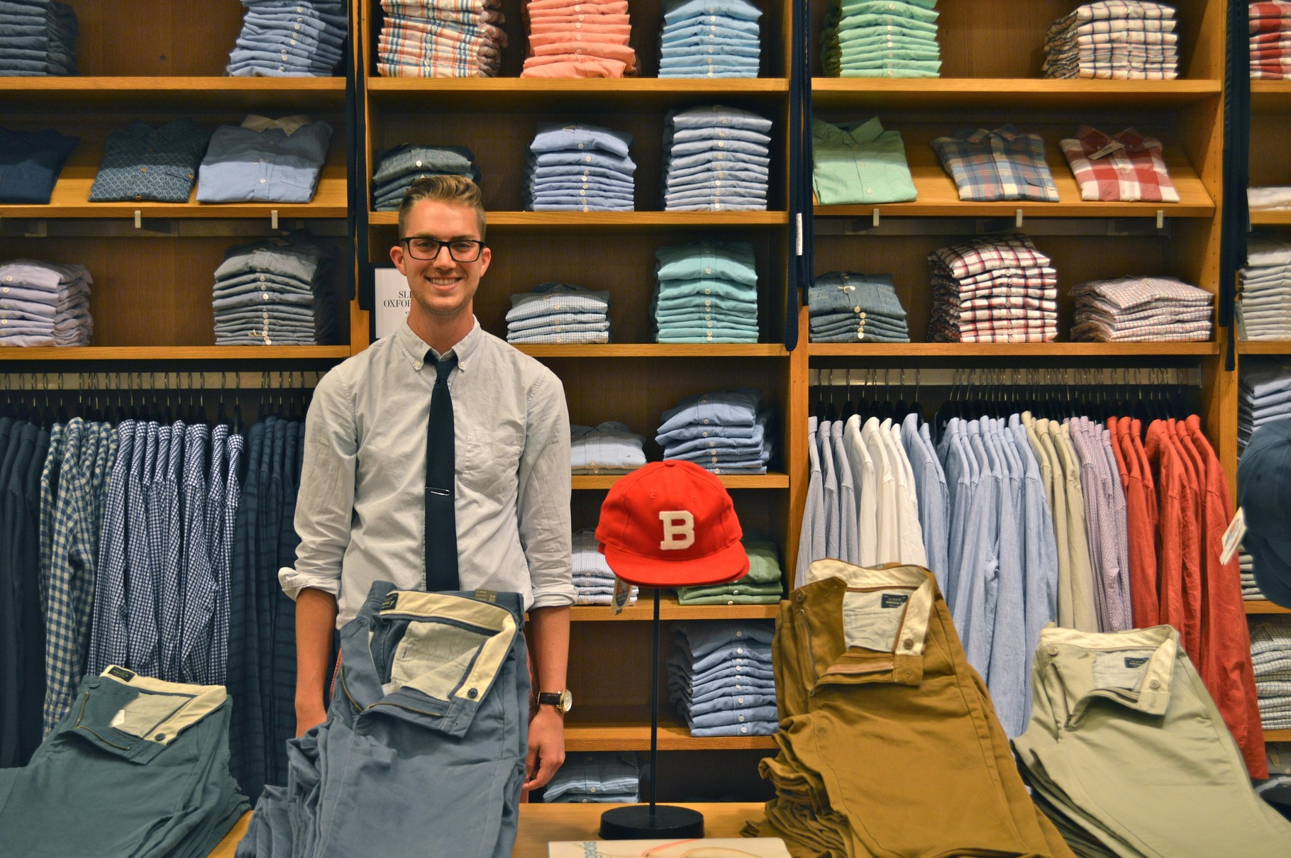 visual merchandising in apparel industry Those products aren't arranged that way by accident — the merchant is using visual merchandising there are an endless array of visual in the case of apparel).