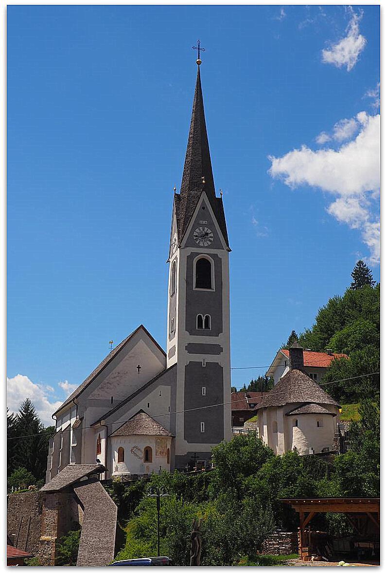 Kirche in Berg - Drautal