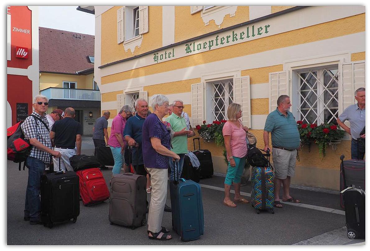 Ankunft in Eibiswald