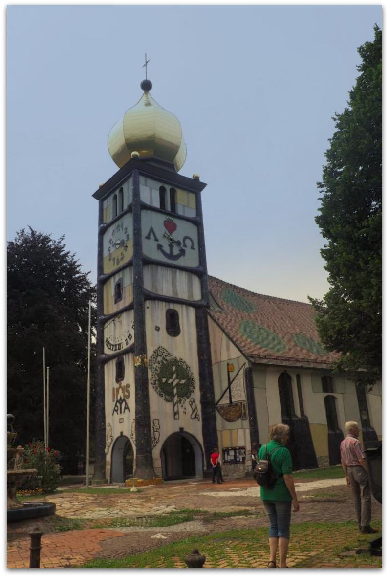 Hundertwasserkirche in Bärnbach