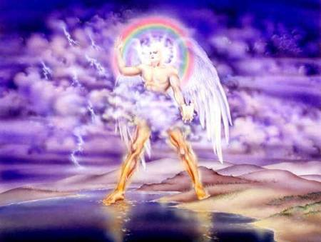 Merci à Sylvie Cos : Je rends hommage à ton côté révélateur. J ai cherché ange (j avais bcp aimé ton partage d'images angéliques) + révélation. C'est cette image qui s est imposée. Je trouve qu' il s'en dégage une grande force tranquille ... comme toi.