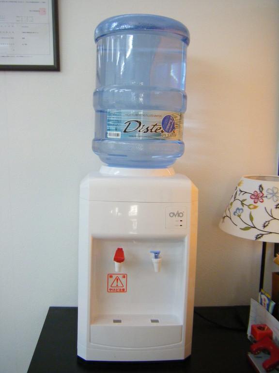 ワンちゃんも飲める給水機
