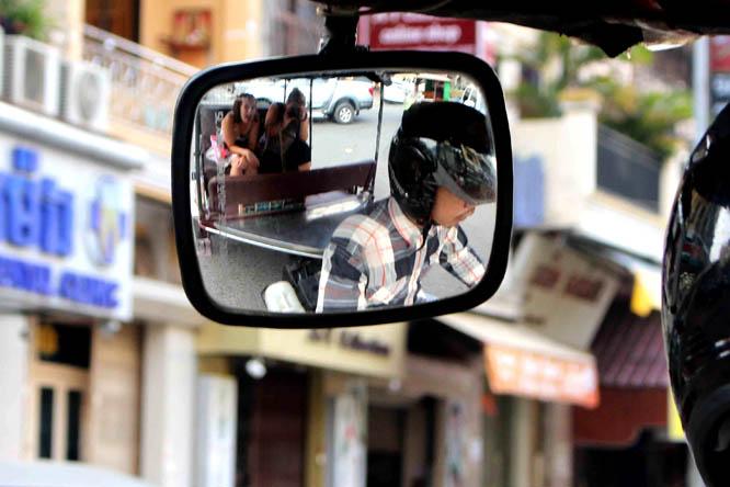 Tuk tuk in Phnom Penh