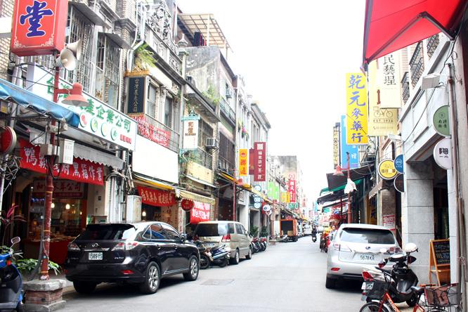 Dulong Street in Taipei