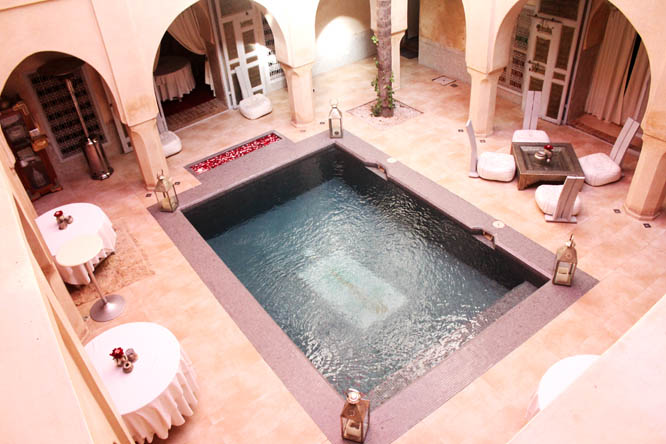 Pool at AnaYela Hotel Marrakesh