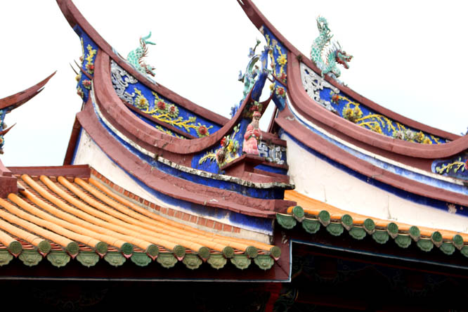 Confucius Temple roof