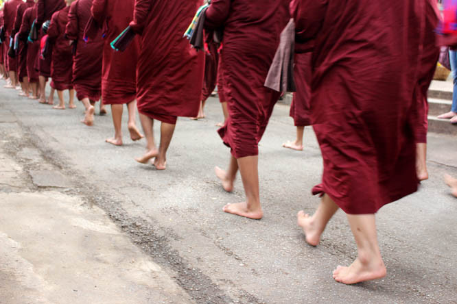 Monks Cool Way To Live