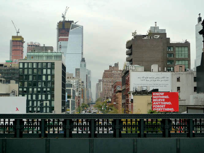 View from the Ney York City High Line