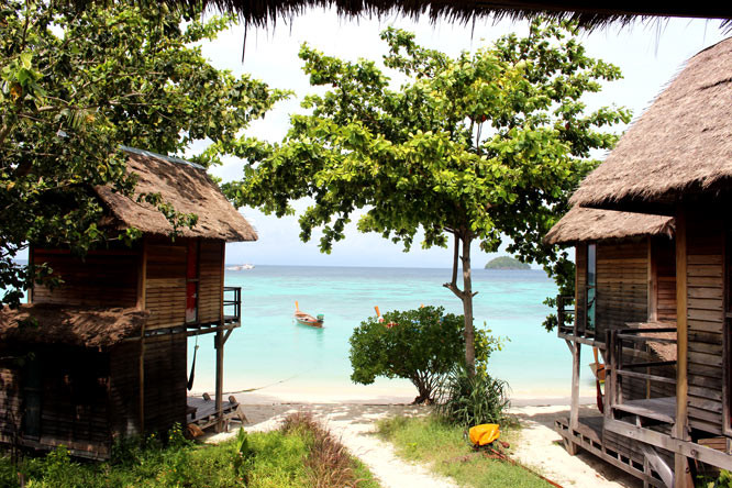 Bungalows at Castaway Koh Lipe
