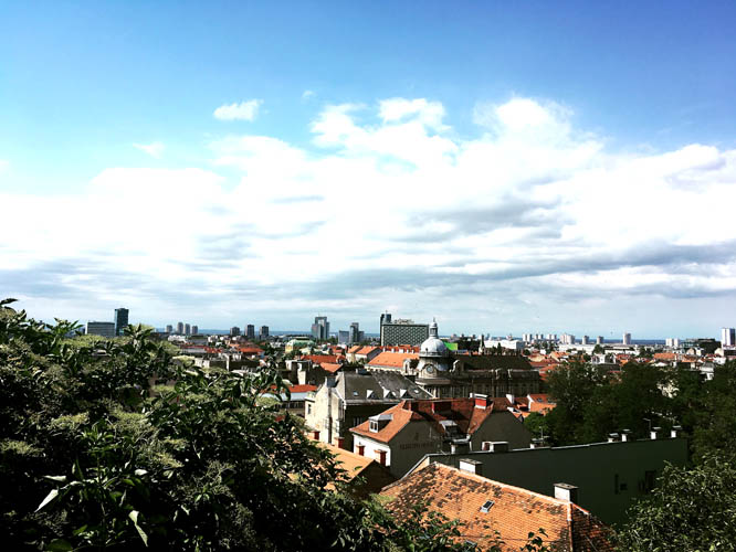 View over Zagreb