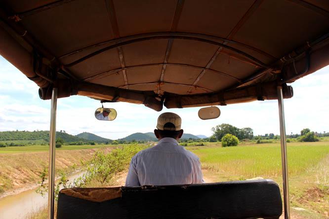 Tuk Tuk in Kampot