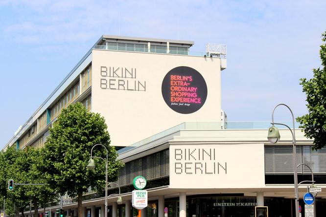 Bikini Berlin mall facade