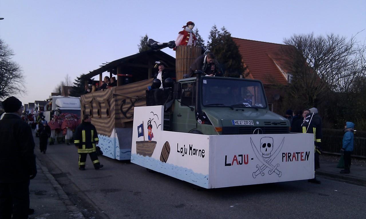 Rosenmontag 2013 in Marne