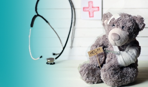 Traumatherapie Trauma Therapie Psychotherapie Psychotherapeut Psychotherapeutin Mülheim Essen Duisburg Oberhausen EMDR Teddy verwundet krank Pflaster
