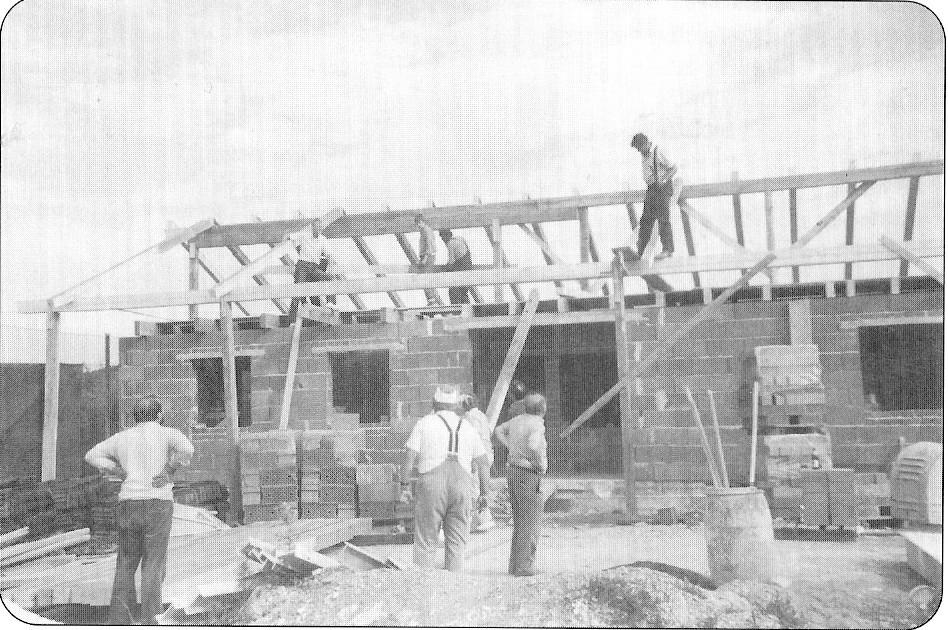 Bau Tennishaus