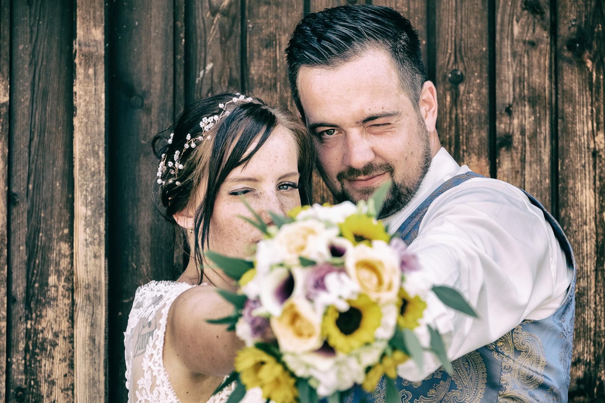 Eine Hochzeitsfotograf