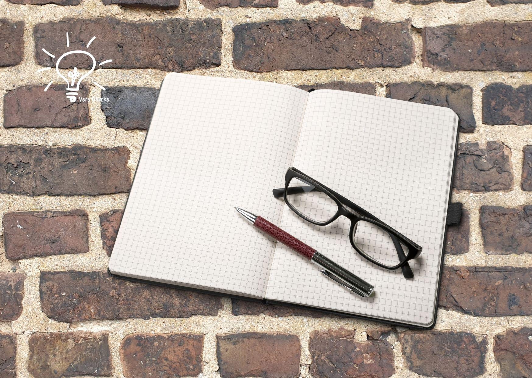 Blindflug - Schreiben ohne Brille