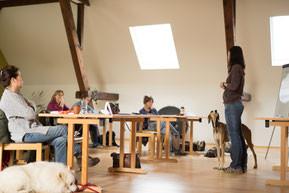Theoretischer Unterricht im Seminarraum