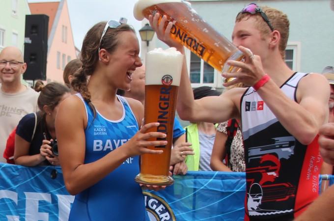 Triathletin Amelie Hanf im Sportlerportrait