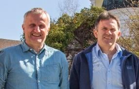 Adi Helmprecht und Martin Blüml