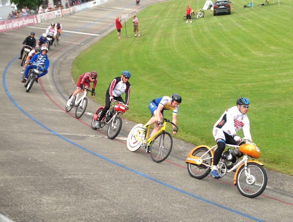 Deutsche Derny-Meisterschaft 2021 in Niederpöring
