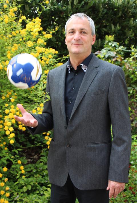 Thomas Clarke, Präsident des Bayerischen Handballverbandes (BHV)
