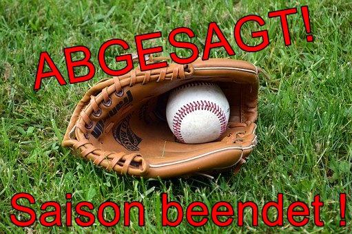 Baseballsaison ab sofort beendet