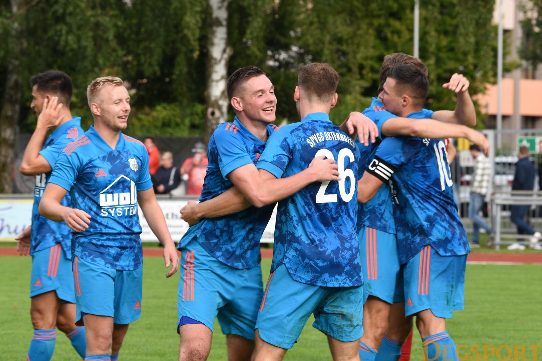 Die Spvgg Osterhofen gewinnt das Derby gegen Seebach